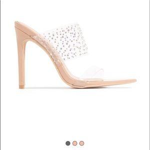Nude miss Lola heels